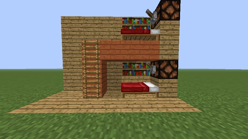 ᐅ hochbett in minecraft bauen - minecraft-bauideen.de, Hause deko