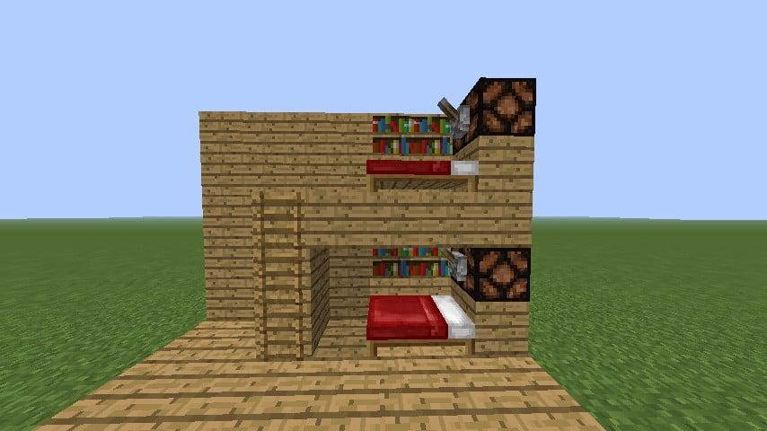 Extrem ᐅ Hochbett in Minecraft bauen - minecraft-bauideen.de XI86