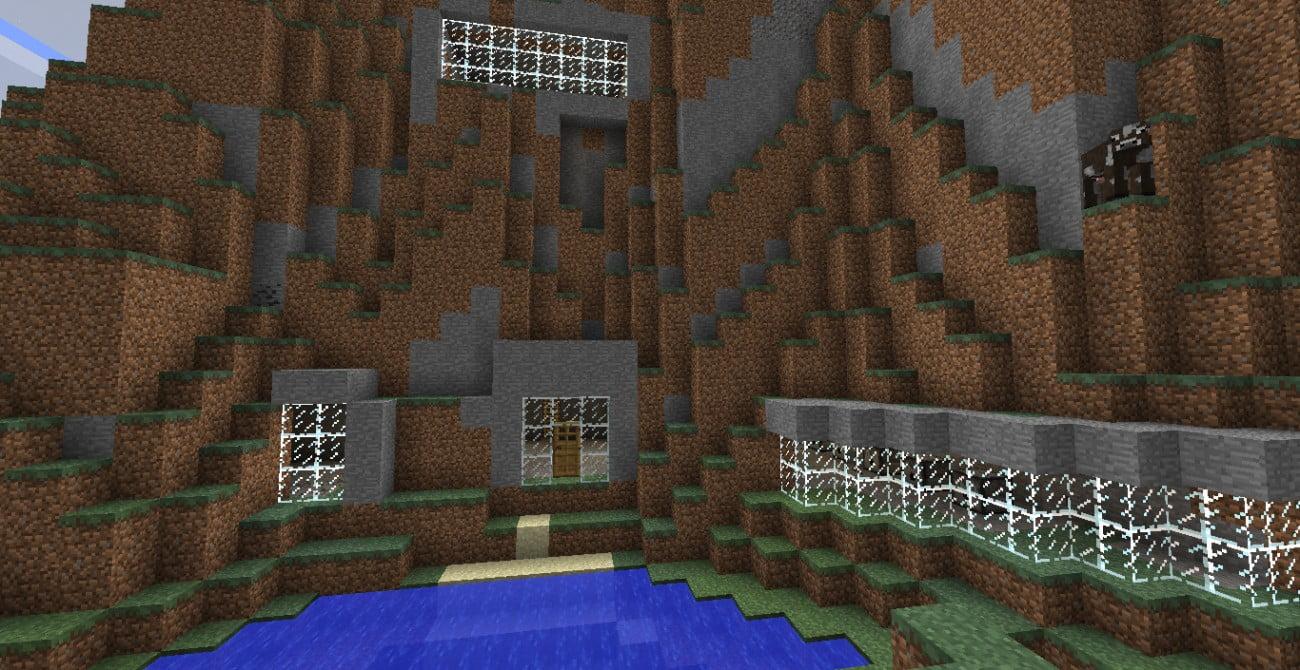 ᐅ Höhlenhaus In Minecraft Bauen Minecraftbauideende - Minecraft hauser innen