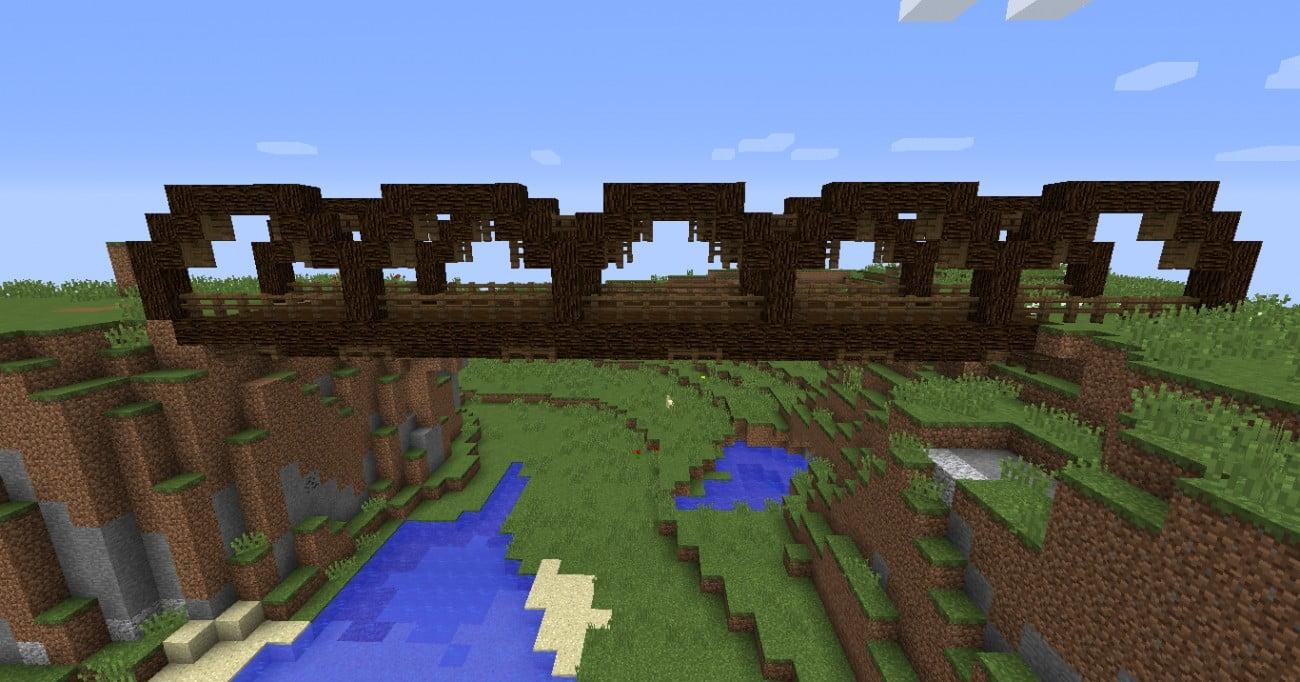 holzbrücke bauen