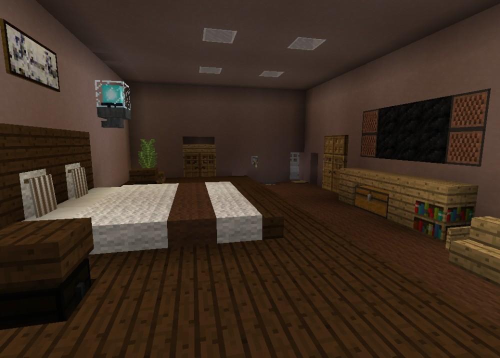 Minecraft Schlafzimmer ~ Interior Design und Möbel Ideen