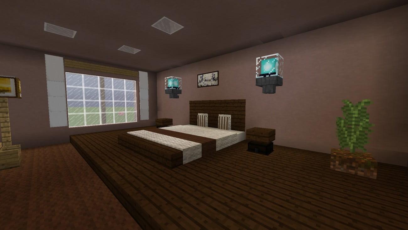 Hotelzimmer in minecraft bauen minecraft - Minecraft schlafzimmer ...