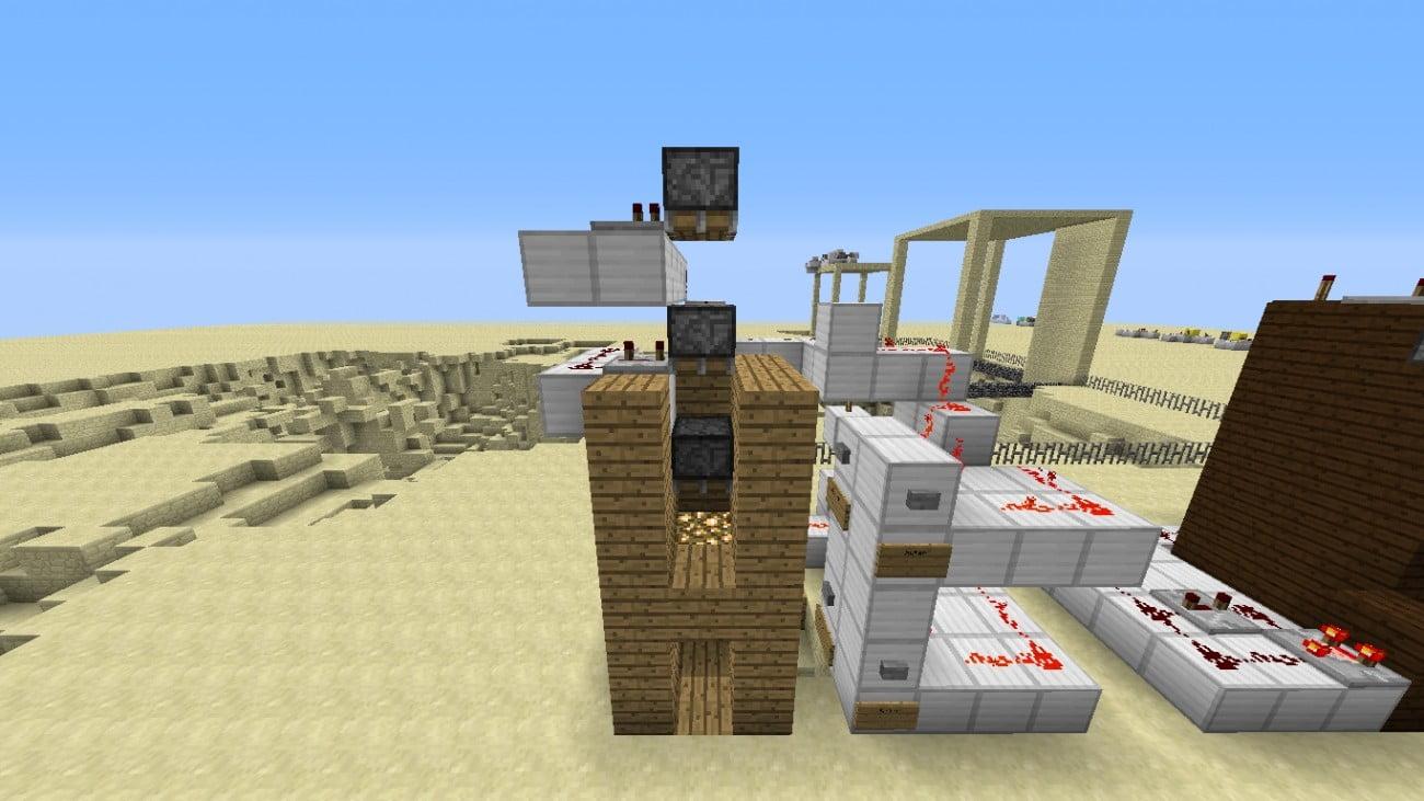 ᐅ HydraulikPersonenlift In Minecraft Bauen Minecraftbauideende - Minecraft hauser verschieben