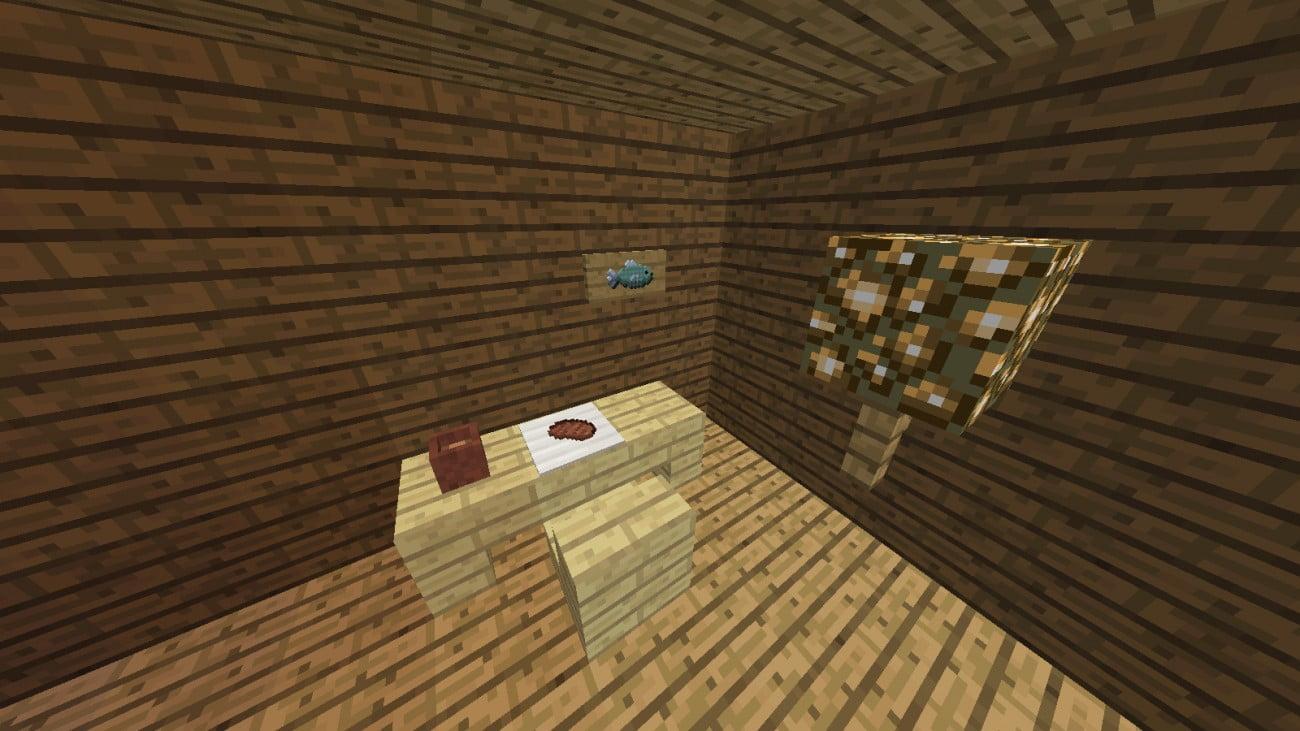 ᐅ Items An Der Wand Auf Tisch In Minecraft Bauen Minecraft