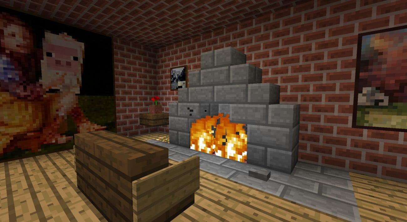 ᐅ Kamin mit Anzünder, Löschung (nachfüllbar kompakt) in Minecraft ...