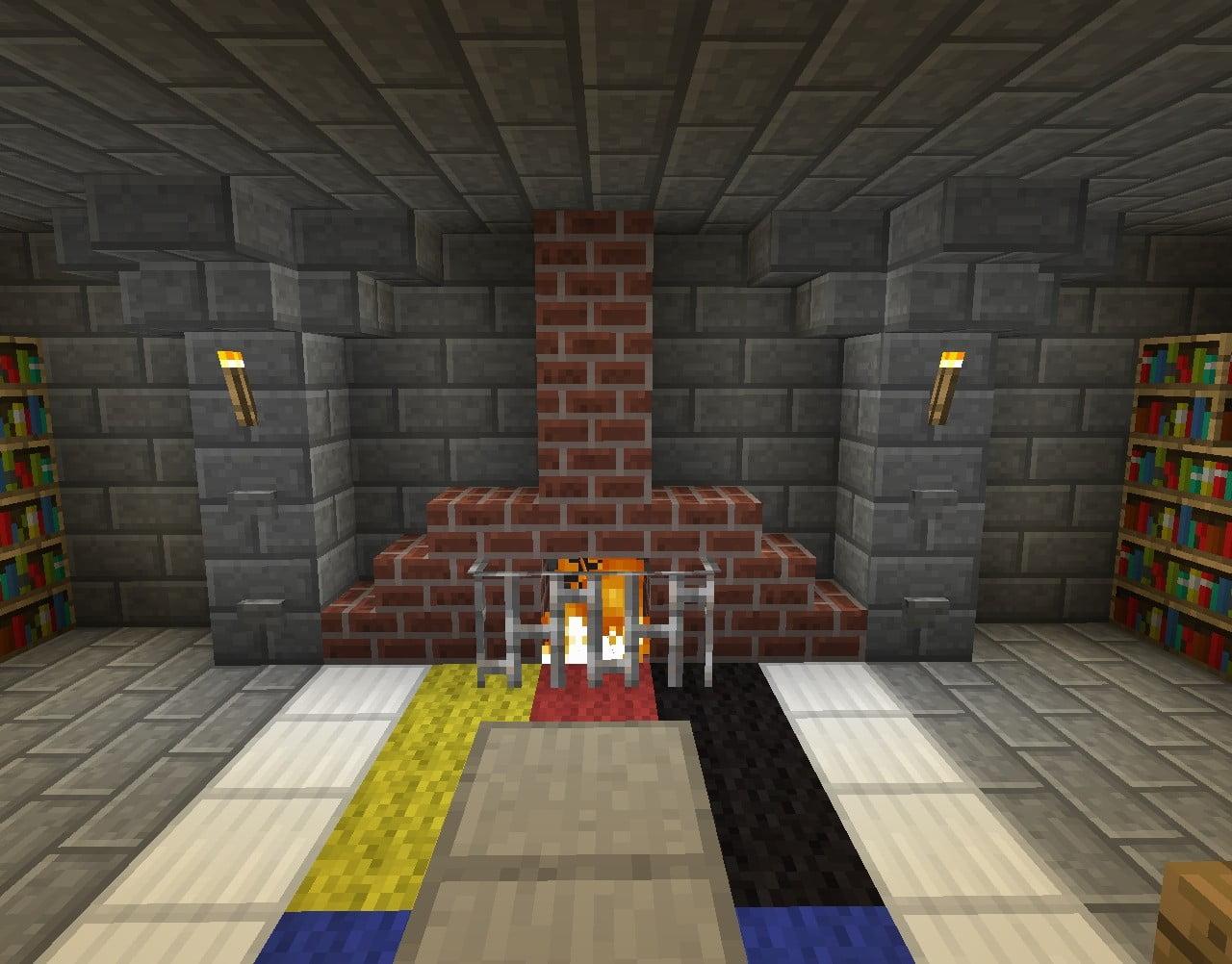 Kamin in minecraft bauen minecraft - Minecraft wohnzimmer ...