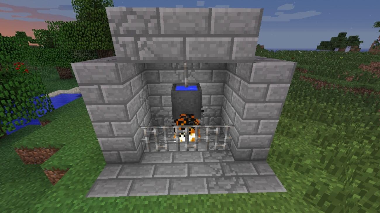 ᐅ Kesselofen in Minecraft bauen - minecraft-bauideen.de