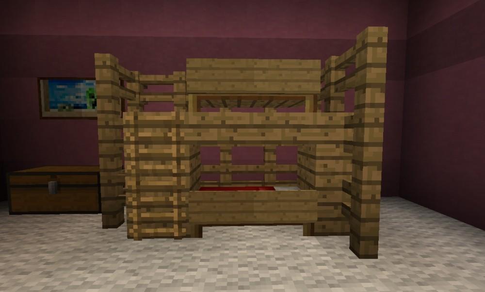 Kinderzimmer – Minecraft Bauideen
