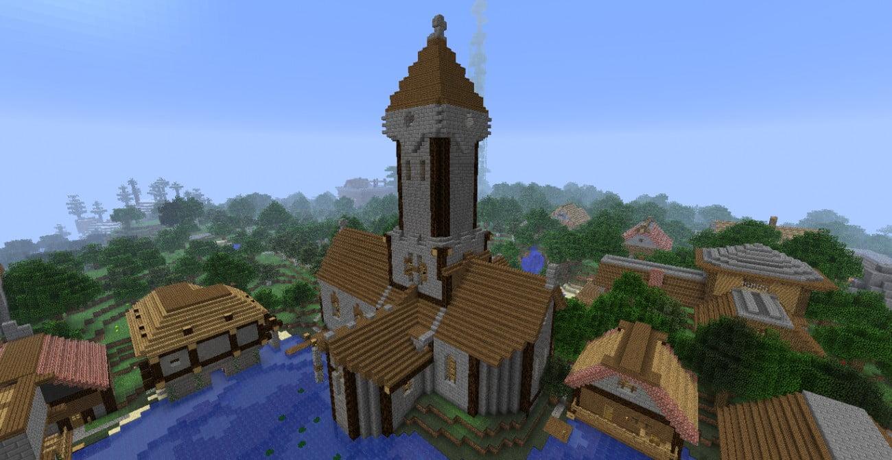 Minecraft Kleine Kirche