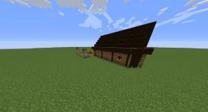 kleine scheune in minecraft bauen minecraft. Black Bedroom Furniture Sets. Home Design Ideas