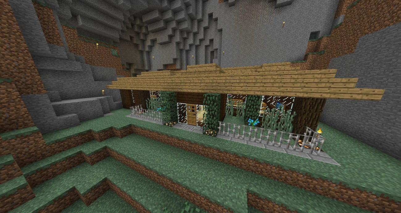Minecraft Spielen Deutsch Minecraft Haus Bauen Im Berg Bild - Minecraft haus bauen im berg