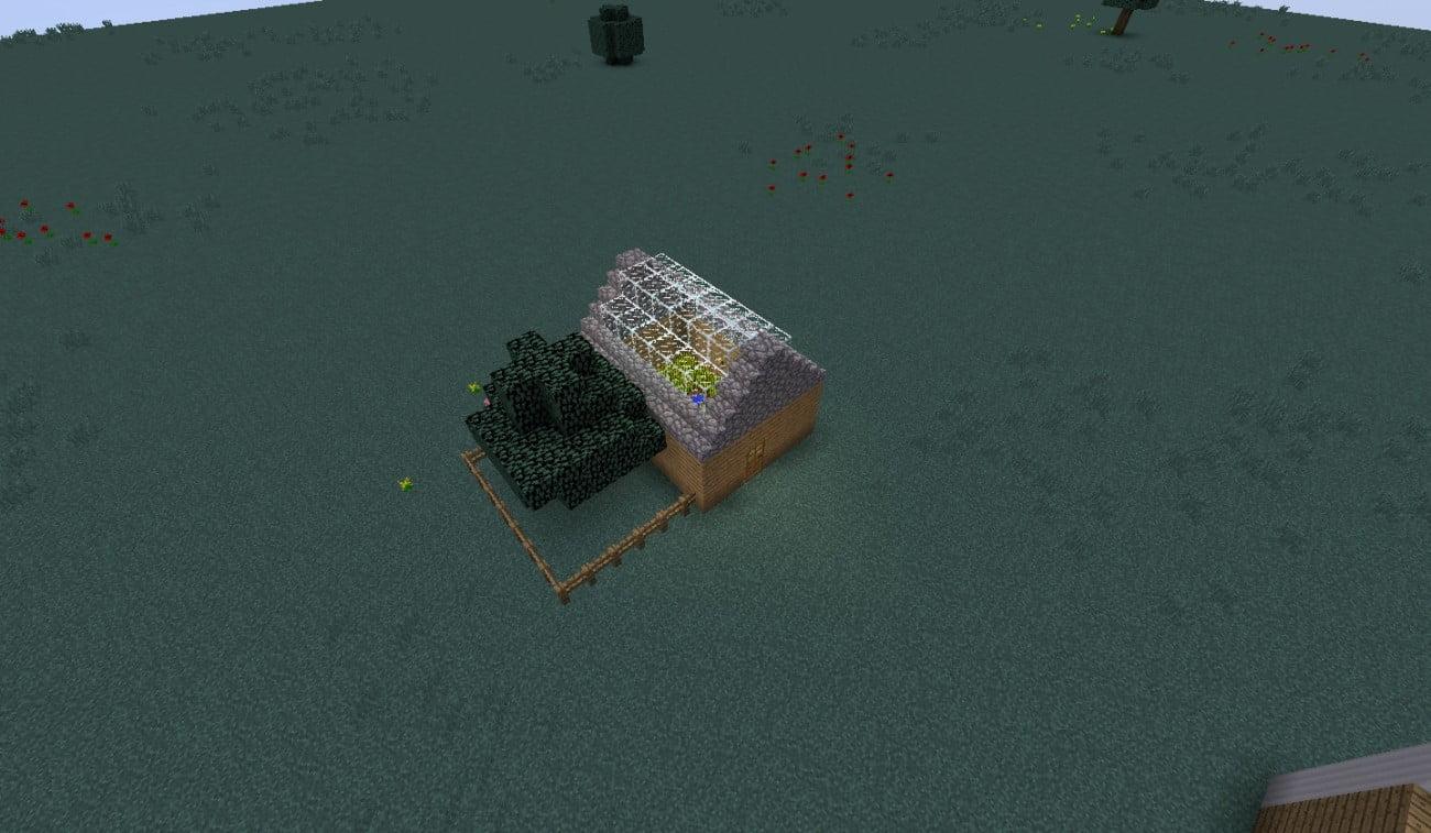 kleines gew chshaus in minecraft bauen minecraft. Black Bedroom Furniture Sets. Home Design Ideas