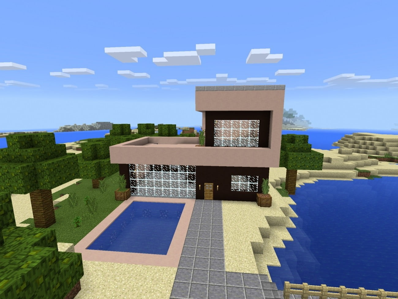 ᐅ Build A Small Beach House In Minecraft Minecraft Bauideen De