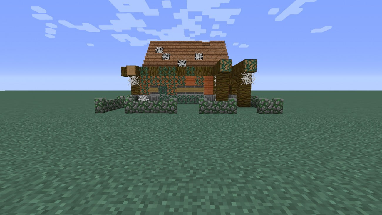 Kleines verlassenes haus in minecraft bauen minecraft for Kleines minecraft haus
