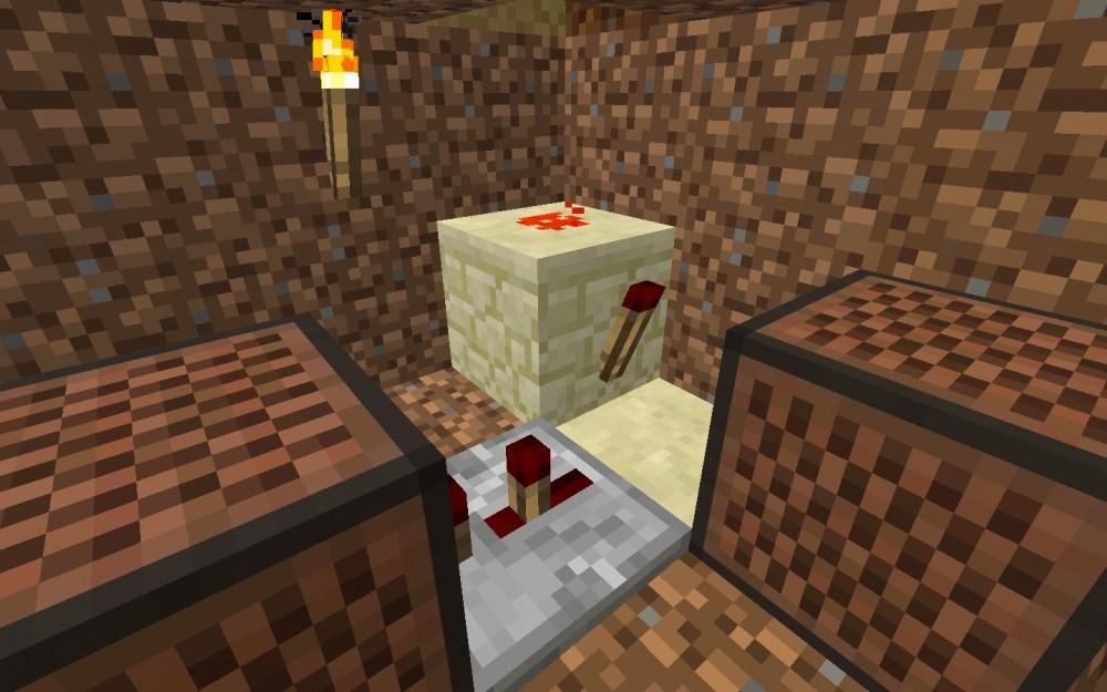 klingel in minecraft bauen minecraft. Black Bedroom Furniture Sets. Home Design Ideas