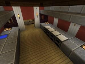 kloster in minecraft bauen minecraft. Black Bedroom Furniture Sets. Home Design Ideas
