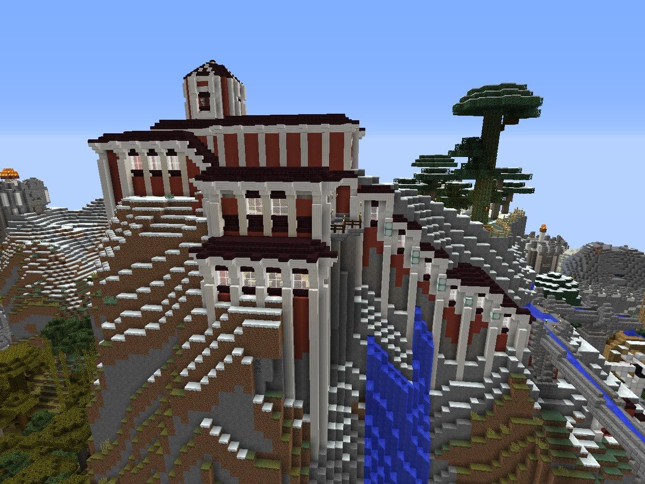 Kloster in minecraft bauen minecraft for Bauideen minecraft