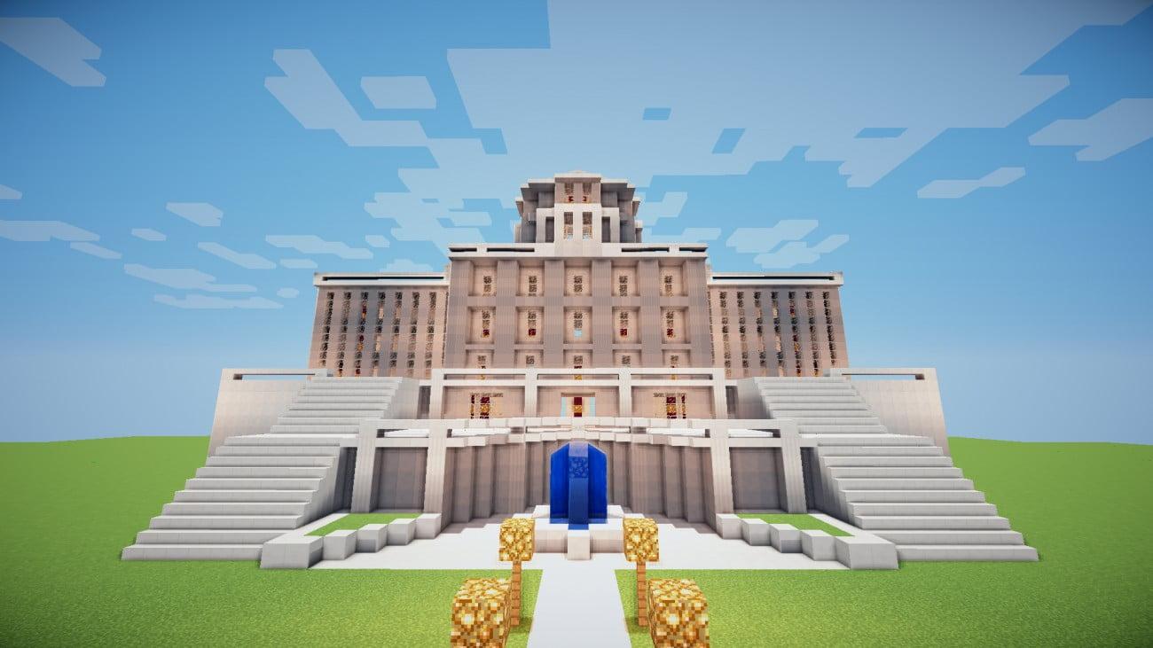ᐅ Konigliches Anwesen In Minecraft Bauen Minecraft Bauideen De