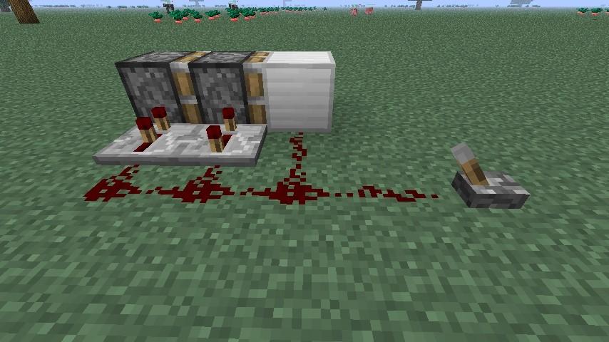 kolben doppel extender in minecraft bauen minecraft. Black Bedroom Furniture Sets. Home Design Ideas