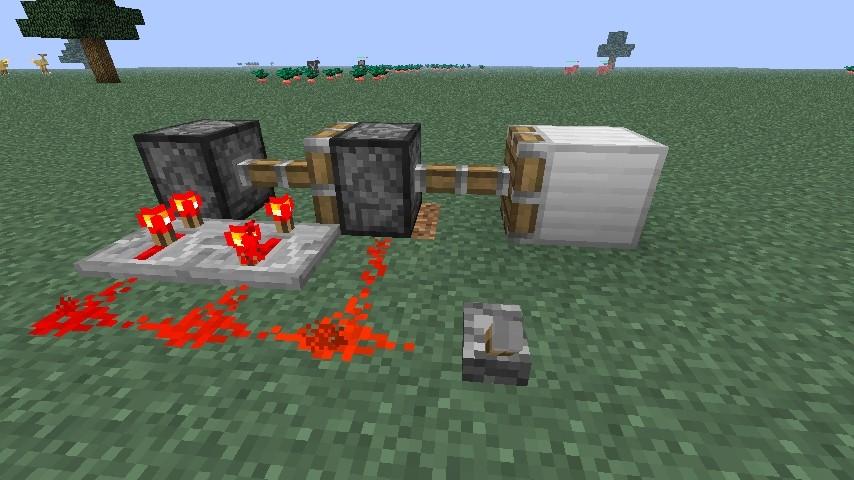 kolben doppel extender minecraft bauideen. Black Bedroom Furniture Sets. Home Design Ideas