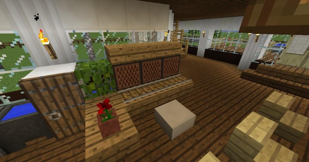 kompakte villa in minecraft bauen minecraft. Black Bedroom Furniture Sets. Home Design Ideas