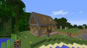 ᐅ Kompaktes Haus Mit Angelegten See In Minecraft Bauen Minecraft - Minecraft hauser schritt fur schritt