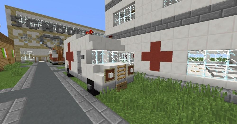 ᐅ krankenhaus in minecraft bauen - minecraft-bauideen.de, Hause deko