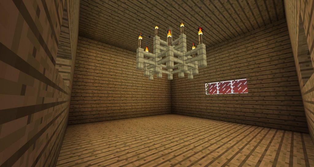 kronleuchter in minecraft bauen minecraft. Black Bedroom Furniture Sets. Home Design Ideas