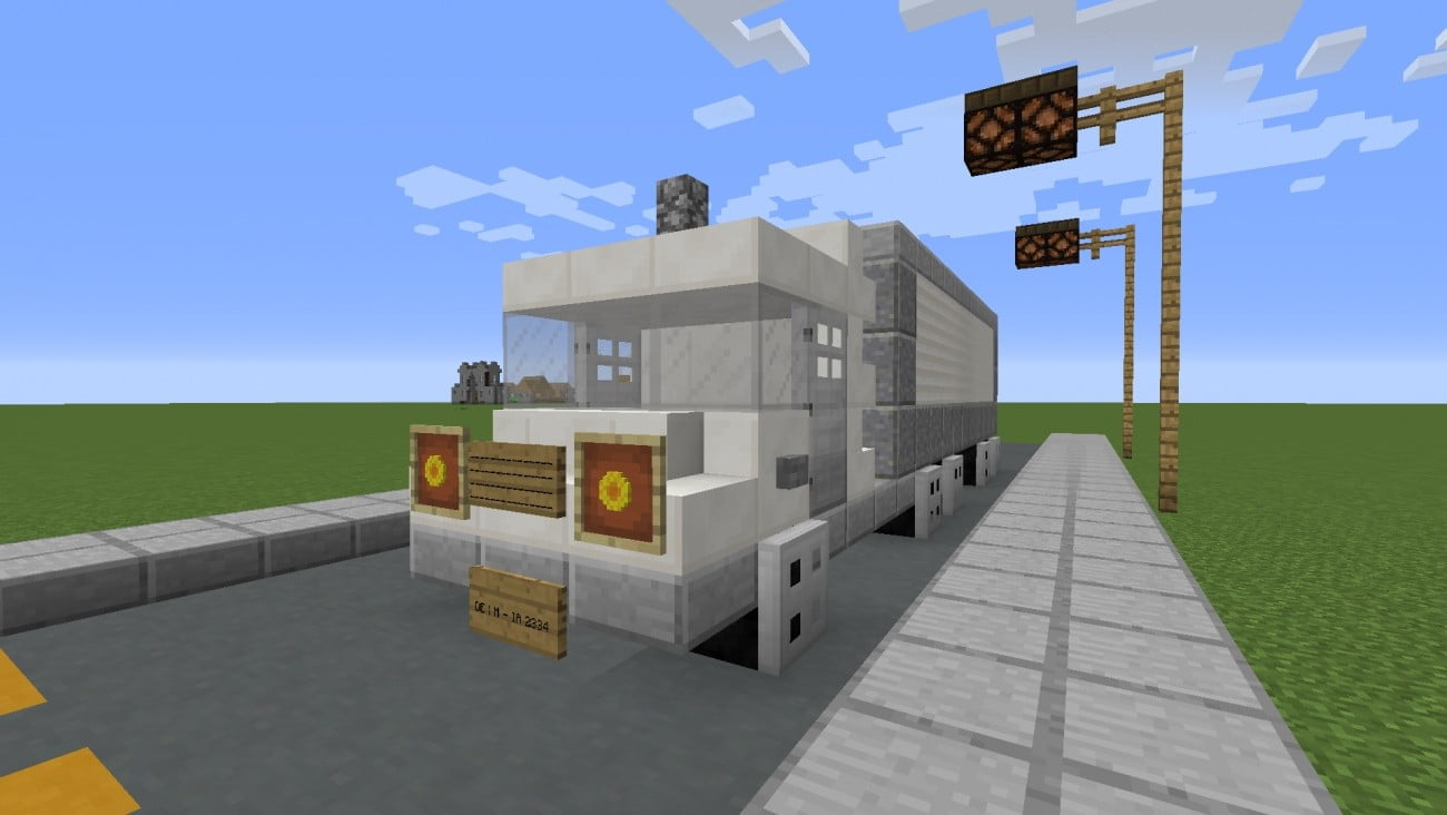 ᐅ LKW in Minecraft bauen - minecraft-bauideen.de