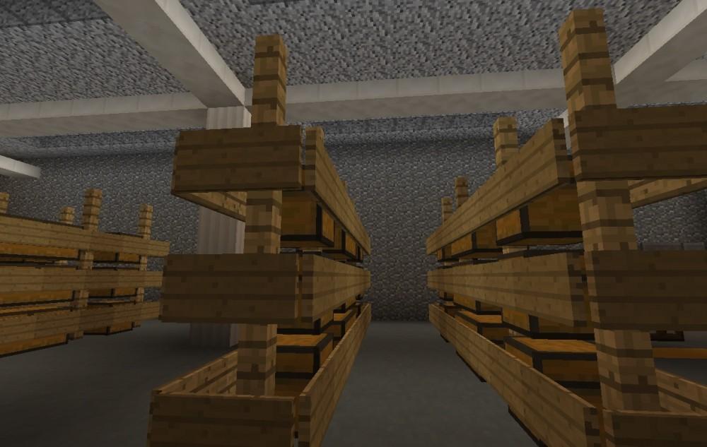 ᐅ Lagerhalle In Minecraft Bauen Minecraftbauideende - Minecraft lagerhauser