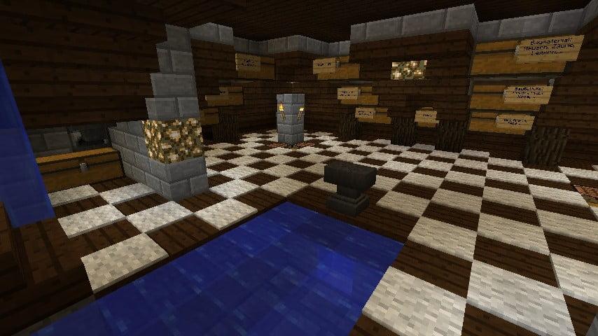 ᐅ Lagerhaus Mit Müllbrunnen Und Industrieofen In Minecraft Bauen - Minecraft lagerhauser