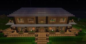 ᐅ Landhaus In Minecraft Bauen Minecraftbauideende - Minecraft hauser aus holz