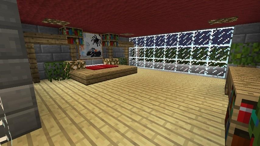 Minecraft Schlafzimmer Modern ~ Kreative Bilder für zu Hause ...