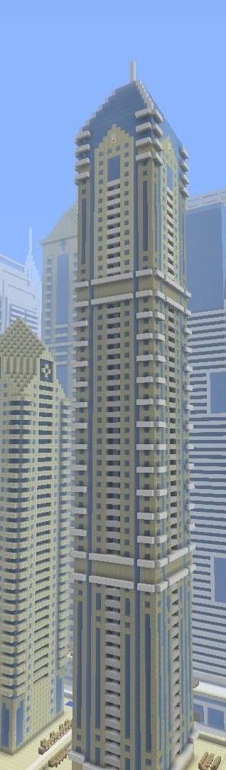 ᐅ Luxus Wolkenkratzer Elite Residence In Minecraft Bauen