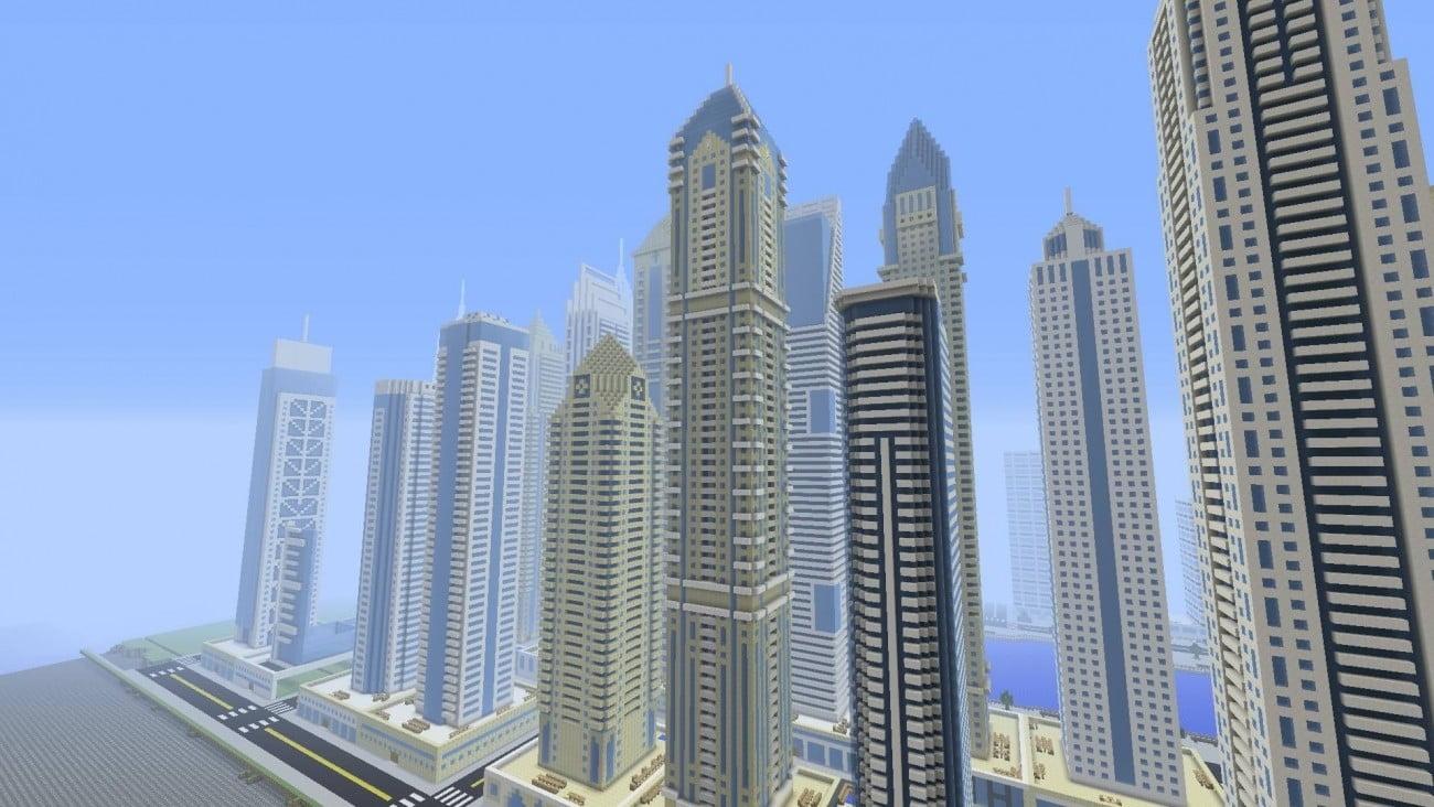 Luxus wolkenkratzer elite residence in minecraft bauen - Minecraft hochhaus ...