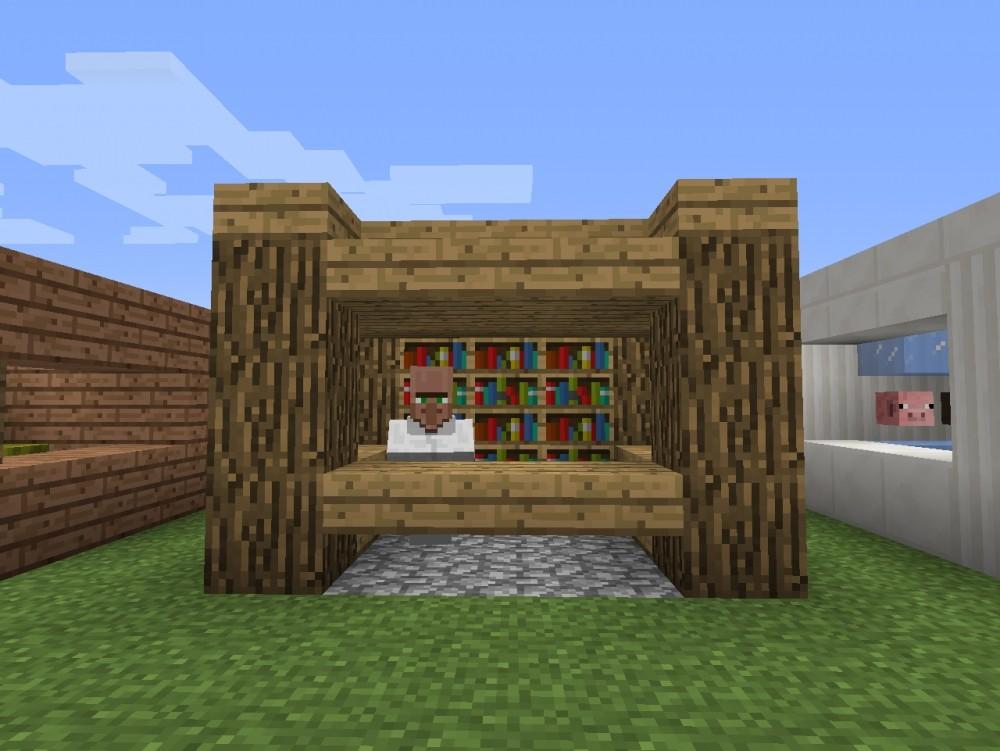 ᐅ Marktstände Der Dorfbewohner In Minecraft Bauen Minecraft - Minecraft hauser dorfbewohner