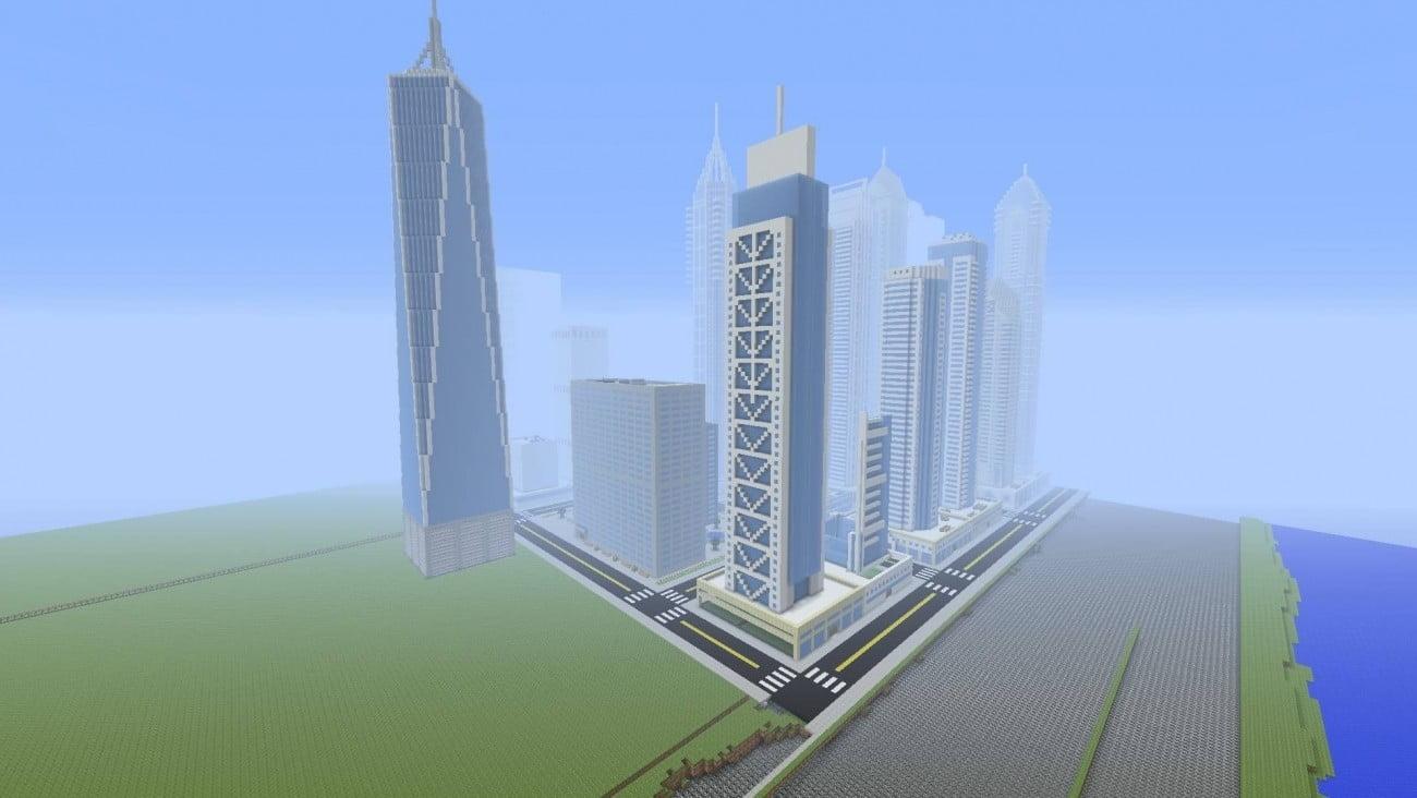 Millennium tower in minecraft bauen minecraft - Minecraft hochhaus ...