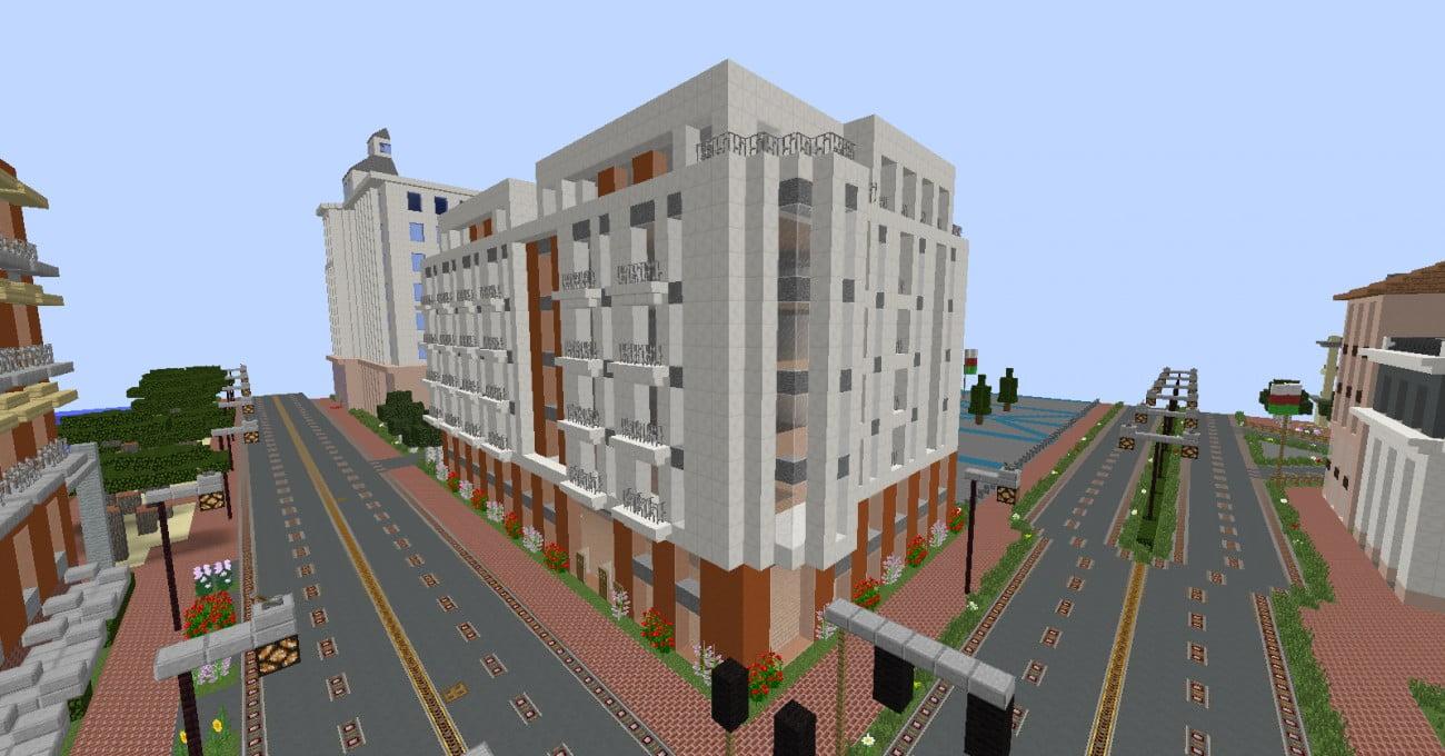 Minecraft wohnhaus in minecraft bauen minecraft for Wohnhaus bauen