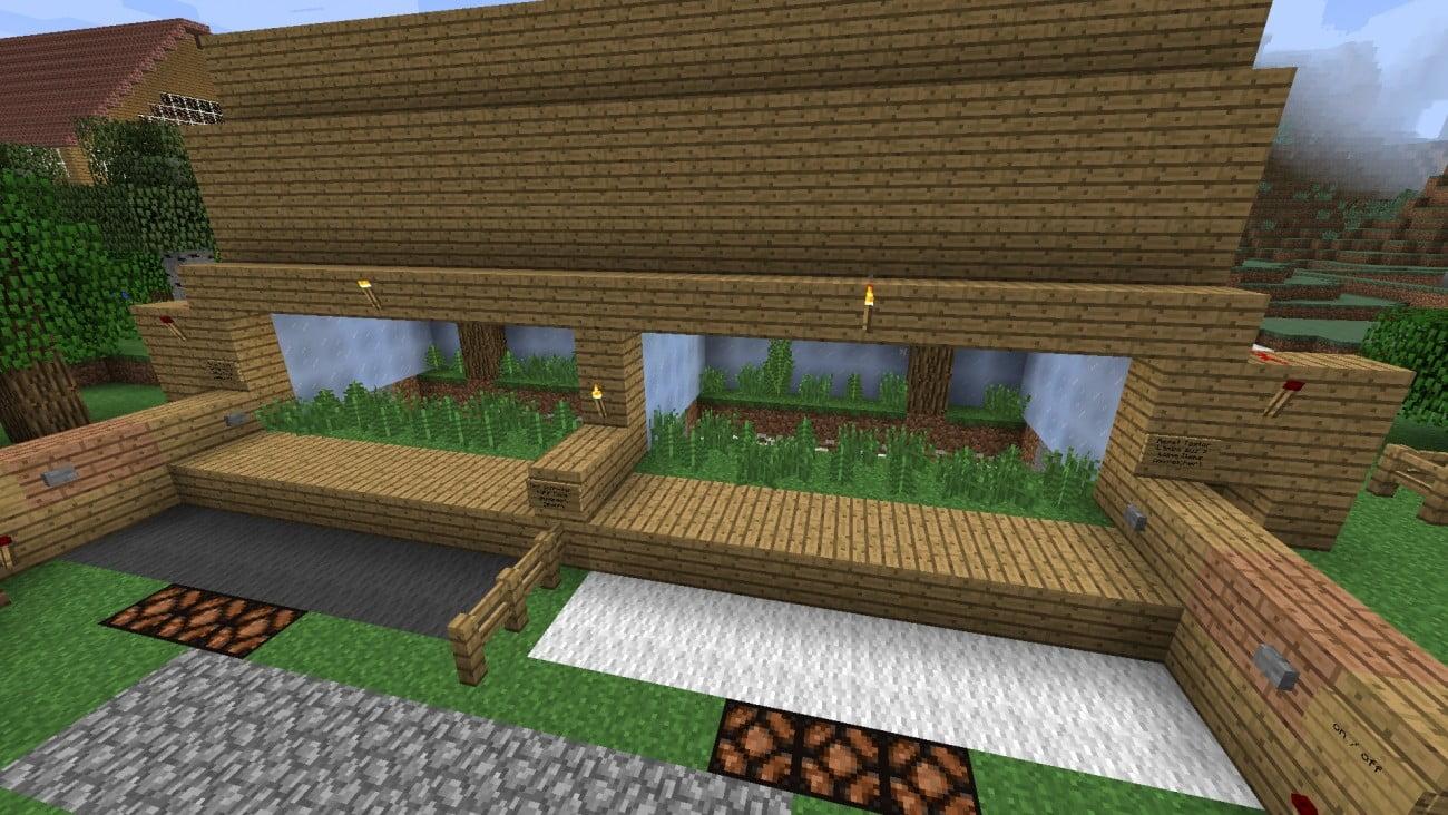 ᐅ Minispiel ChickenHunter Vs In Minecraft Bauen Minecraft - Minecraft minispiele