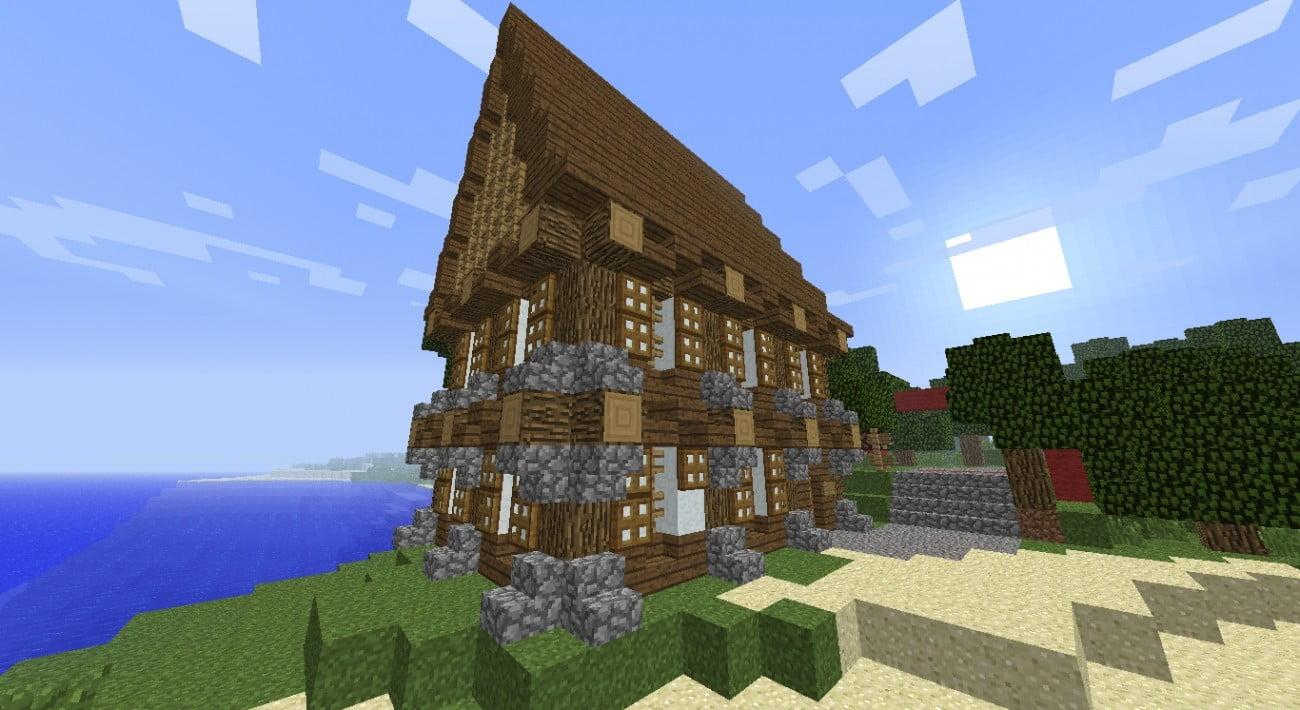 ᐅ Mittelalter Haus Des Mittelstandes In Minecraft Bauen - Minecraft hauser bauideen