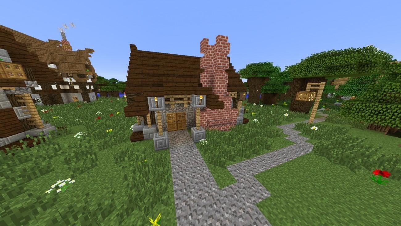 ᐅ Mittelalter Bäckerei In Minecraft Bauen Minecraftbauideende - Minecraft schone einfache hauser