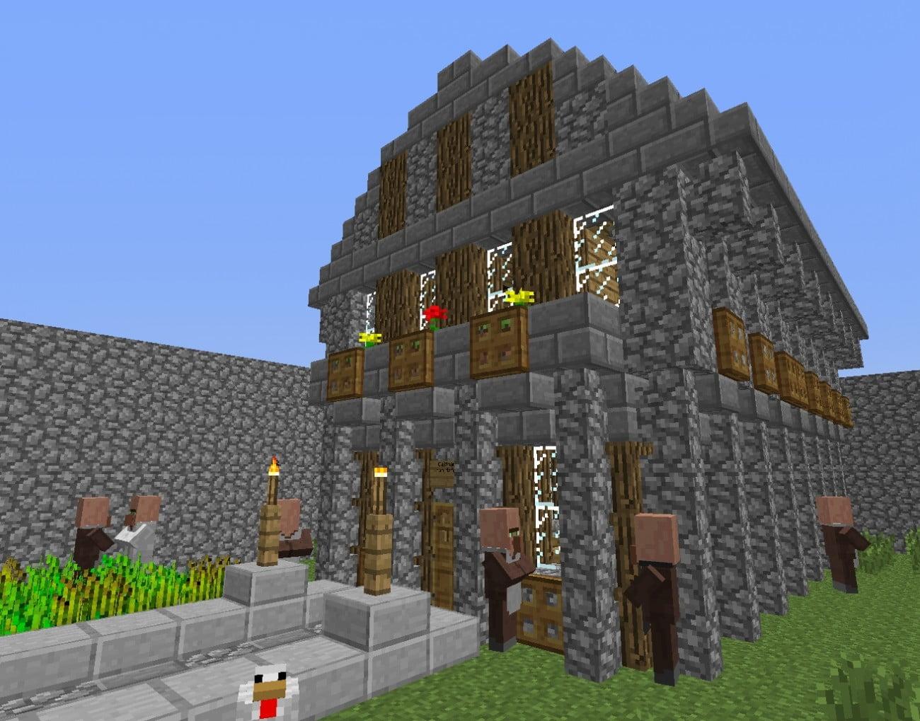 Mittelalter Haus In Minecraft Bauen Minecraft bauideende
