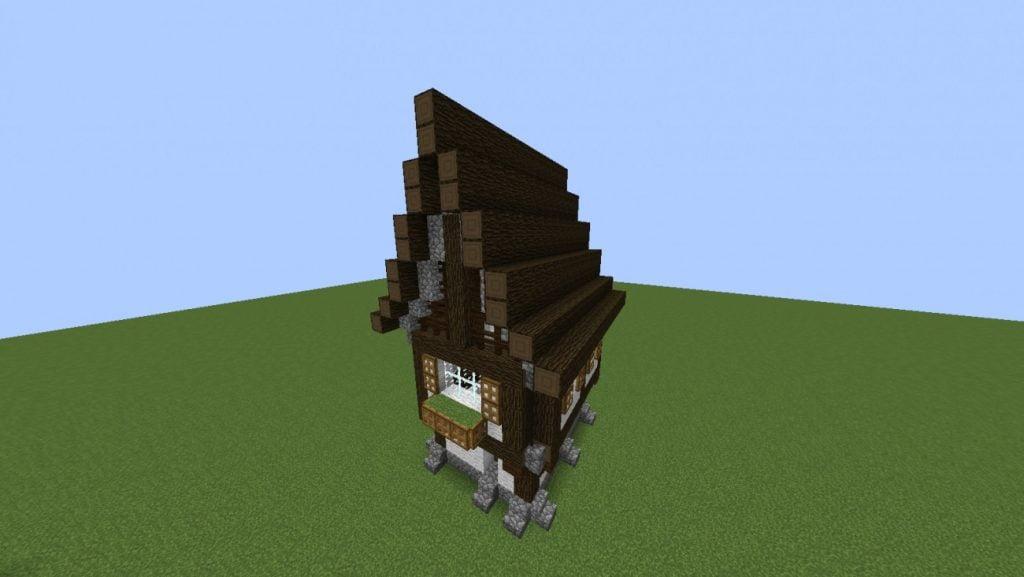 Mittelalterliches haus in minecraft bauen minecraft for Kleines minecraft haus