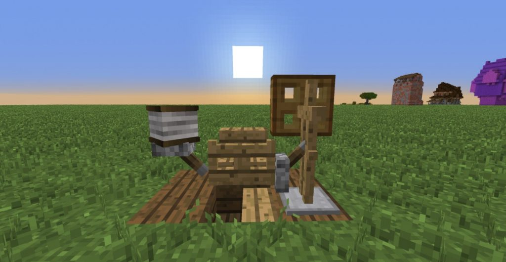 ᐅ Mittelalterliches Spinnrad Mit Tutorial In Minecraft Bauen - Minecraft spielerkopfe command