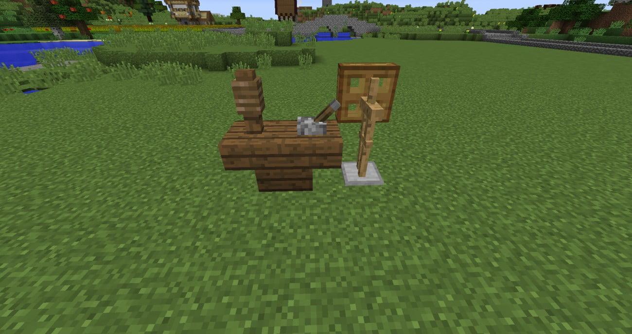 ᐅ Mittelalterliches Spinnrad Mit Tutorial In Minecraft Bauen - Minecraft spielerkopfe