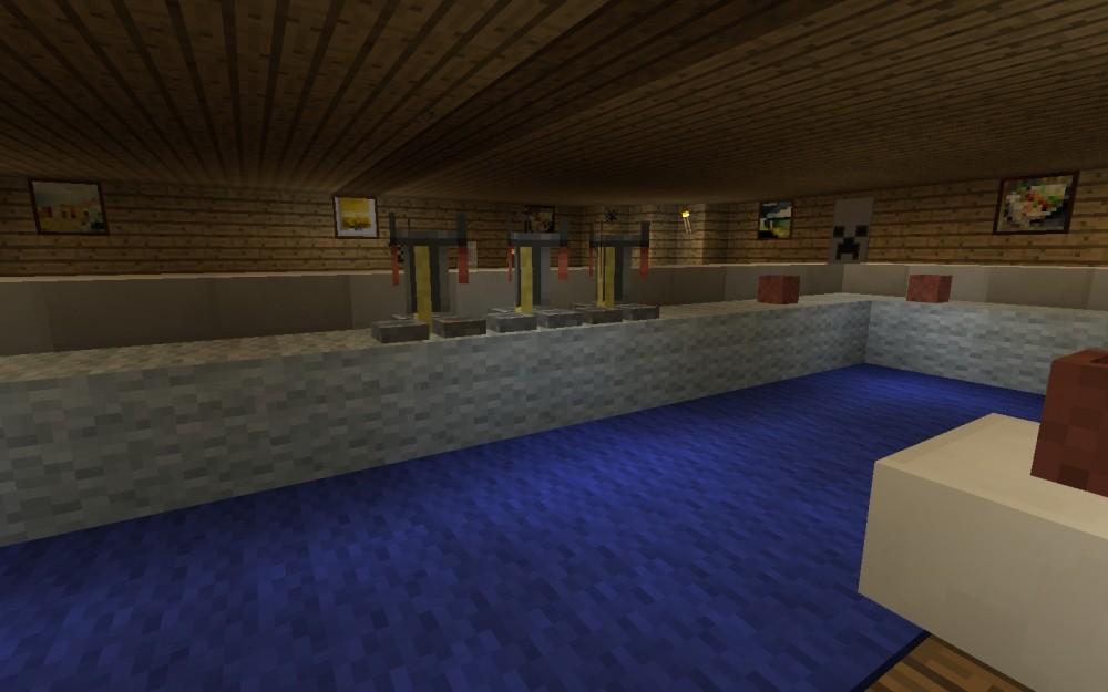 moderne bar in minecraft bauen minecraft. Black Bedroom Furniture Sets. Home Design Ideas