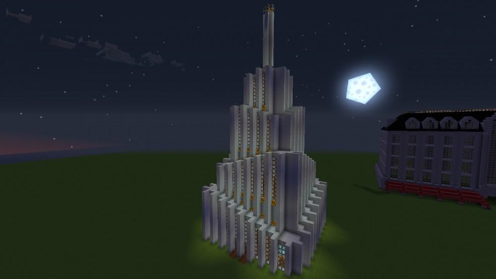 Moderner wolkenkratzer minecraft bauideen - Minecraft hochhaus ...