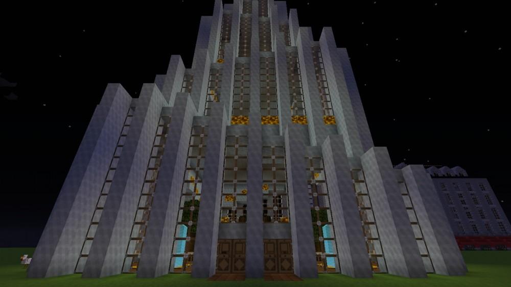 Moderner wolkenkratzer in minecraft bauen minecraft - Minecraft hochhaus ...