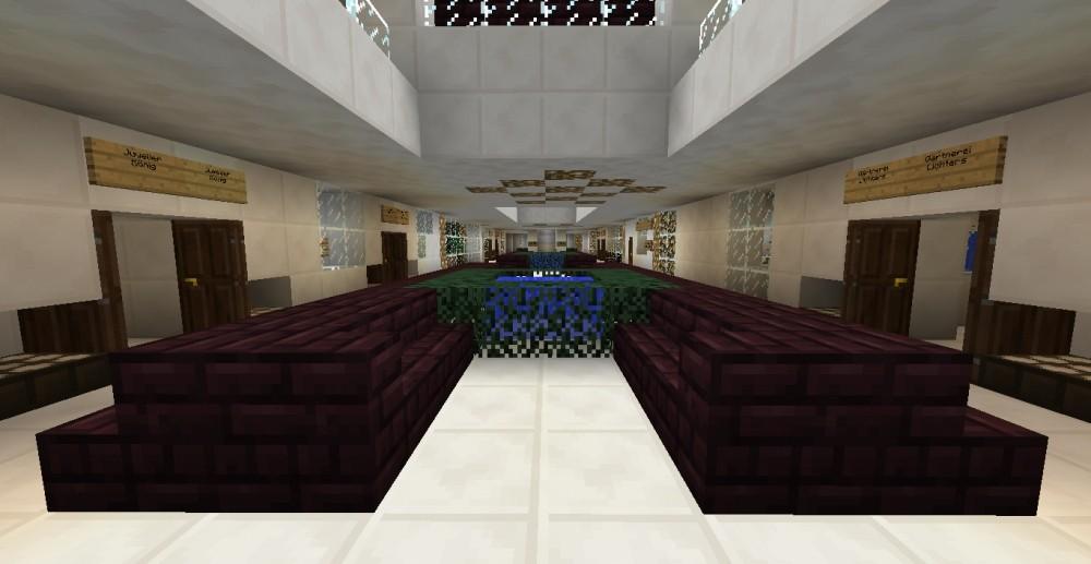 modernes einkaufszentrum in minecraft bauen minecraft. Black Bedroom Furniture Sets. Home Design Ideas
