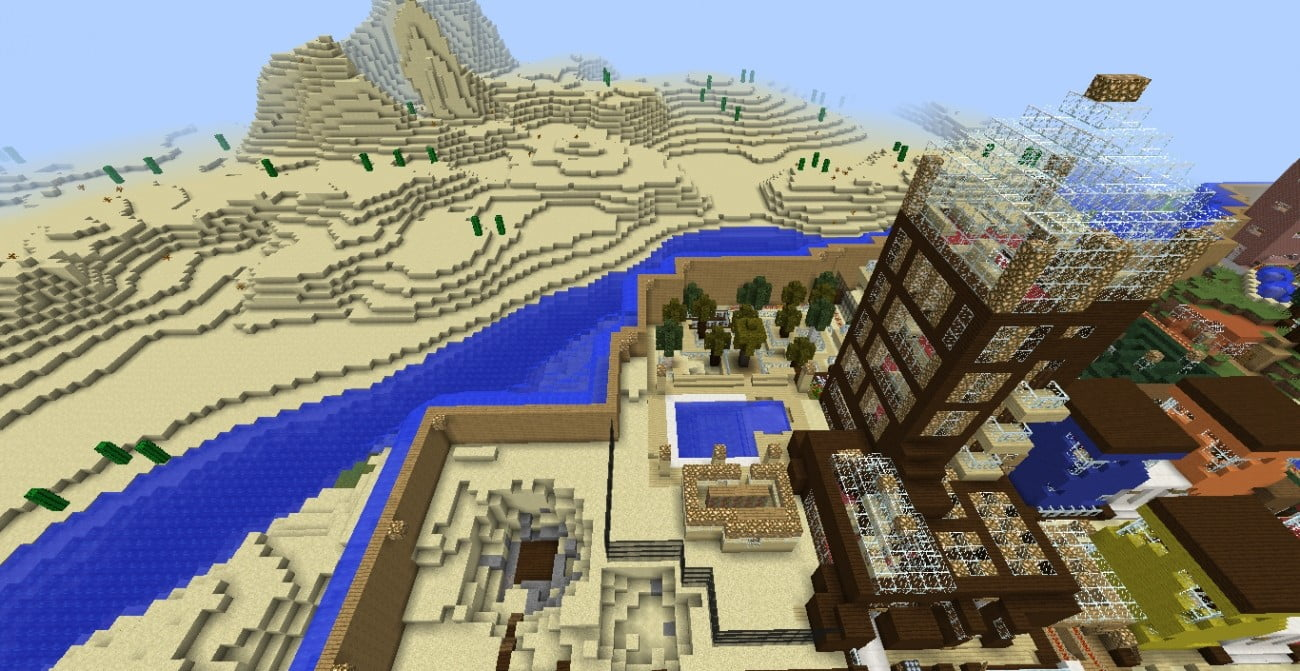 Modernes familienhotel in minecraft bauen minecraft for Modernes familienhotel